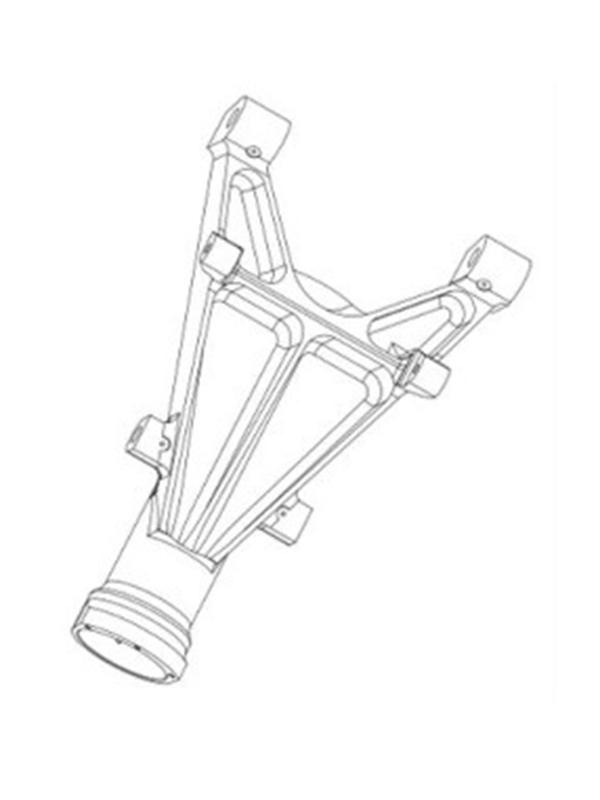 Metro-liner - Nose Landing Gear - Plane Support