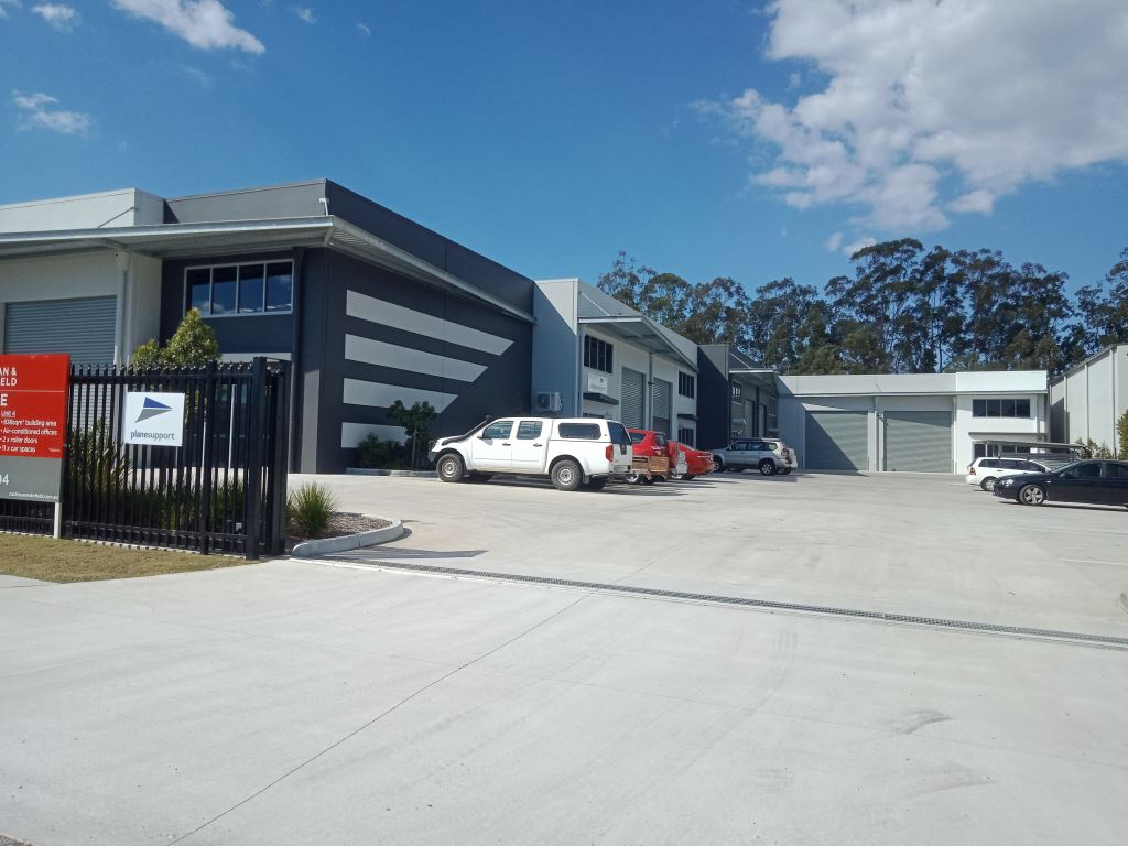 Plane Support new Gold Coast Office
