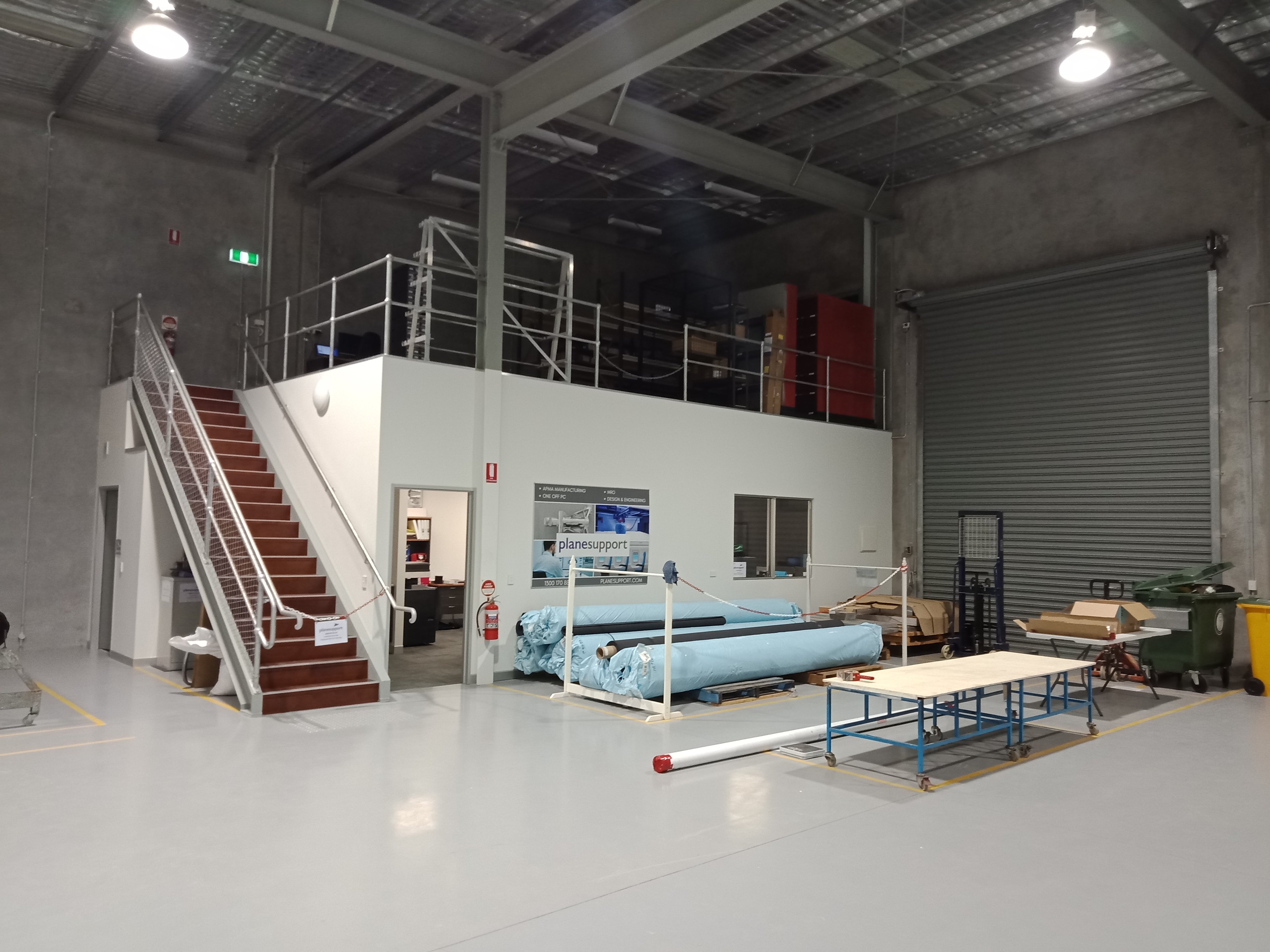 Plane Support carpet manufacturing
